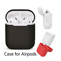 .Case for AirPods Soft Silicone Shock Proof Protective Waterproof Cover Earph Js