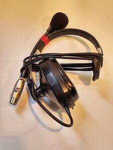 Clear-Com CC-40 Single Ear 4 Pin Intercom Headset Not Working For Parts/Repair?