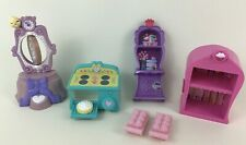 My Little Pony Bakery Cupcakes Oven Shelf Mirror Toy Accessories 6pc Lot Hasbro