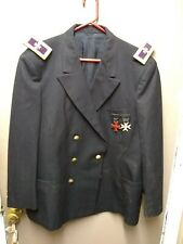 Vintage Masonic Knights Templar Uniform Coat (Pit)