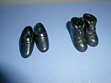 """Barbie """"Ken Doll """" Shoes  Loafers and Boots Vintage"""