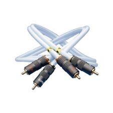 Supra Cables RCA / Cinchkabel EFF - IX Audio mit PPX Stecker (1,0 m) NEU!