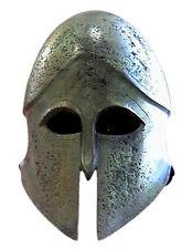 Ancient Greek 100% Bronze helmet of Thespeia Museum Replica Reproduction