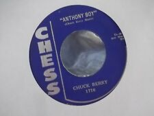 45M CHUCK BERRY THATS MY DESIRE / ANTHONY BOY ON CHESS  RECORDS