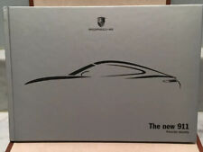 The new 911 Porsche identity Brochure Catalog Silver Color Hard Cover Germany