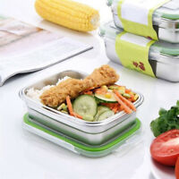 Portable Stainless Steel Thermal Insulated Lunch Box  Bento Box Food Container/