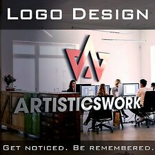 PROFESSIONAL CUSTOM LOGO DESIGN | UNLIMITED REVISIONS | VECTOR FILE