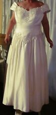 David's Bridal Wedding Dress  #98570 - Ivory - Size 20w