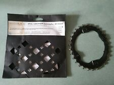 Absolute Black Oval Chain Ring 30 Tooth N/W 96 BCD