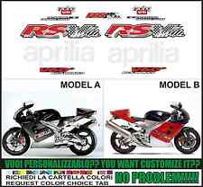 kit adesivi stickers compatibili  rsv 1000 1998
