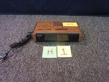 SONY DREAM MACHINE DUAL ALARM DIGITAL CLOCK RADIO ICRC400 AM FM SNOOZE SLEEP