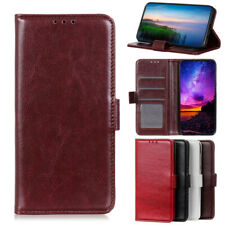 For Nokia 6.2 4.2 3.2 2.2 Google Pixel 3 4 Crazy Horse Leather Wallet Case Cover