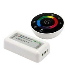 SUPERNIGHT® 7-Key Touch Panel RF Round Remote Controller for RGB LED Strip Light