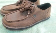 Quicksilver Leatha Low Mens Leather Rubber Sole Size 7