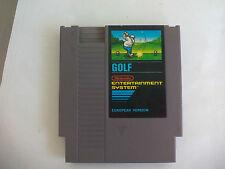 Golf. Juego para consola Nintendo Nes. European Version. Entertainment system