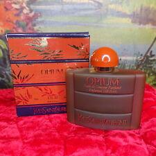 Vintage Yves Saint Laurent Opium Perfumed Silk Bath Large 4 oz Ysl Perfume Rare