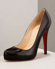 100% AUTHENTIC NEW WOMEN LOUBOUTIN ROLANDO HEELS/PUMPS US 11.5