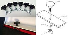 Jeep Wrangler JK JKU TJ YJ CJ hard top quick release knobs bolts nuts hardtop