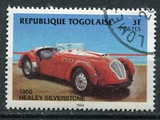 TIMBRE TOGO VOITURE HEALEY SILVERSTONE 1950