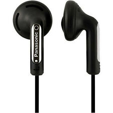 Panasonic rp-hv094 IN EAR STEREO Head Telefoni Mp3 Player iPod-Nero Nuovo