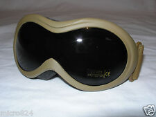 Infantry Goggles Coyote Tan Fox Outdoor Military Eye UV400 Shatterproof NEW