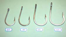 4 Swordfish fishing hooks in 4 sizes mixed (9/0, 10/0,11/0, 12/0) game fishing
