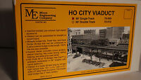 HO Micro- Engineering #75-509 HO CITY VIADUCT 90' SINGLE TRACK BigDiscountTrains