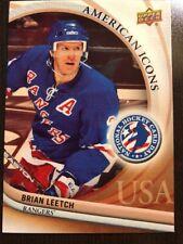 2012 UD National Hockey Card Day #15 Brian Leetch