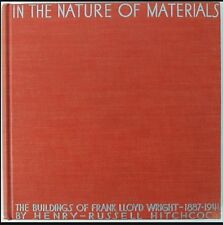 FRANK LLOYD WRIGHT -  Signed - IN THE NATURE of MATERIALS