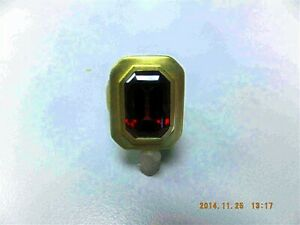 Kieselstein Cord - Borgia Ring- 18 kt Gold, sz / 6 1/2- Rhodolite center stone