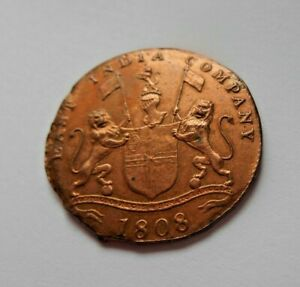 TREASURE copper COIN shipwreck 1808 EAST INDIA Co wreck SHIP 20 cash XX GARDNER