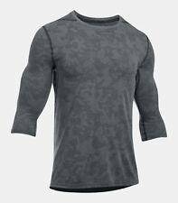 Under Armour Threadborne ¾ Utility Henley Mens Shirt 1311024-001 2Xl Xxl Nwt