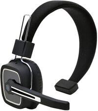 Bluetooth Wireless Headset Headphones Noise Canceling Stereo Mic Trucker Drivers