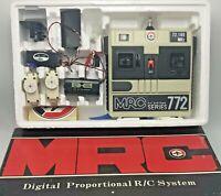Vintage MRC 772 Series Digital Proportional R/C System in Box 72MHz Japan