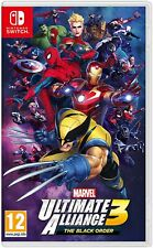 Marvel Ultimate Alliance 3: The Black Order (Switch) Out 19th July New & Sealed