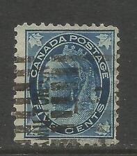 Canada 1897-98 Queen Victoria dark blue (70) used