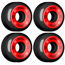 Bones 100 V5 Skate Wheels Set Black Red 52mm