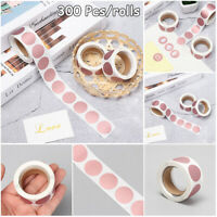 Code Cover Business Labels Adhesive Paper Scratch Off Sticker Round Shape