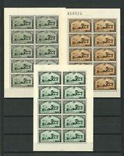407/09 XX Feuillets de 10 - COB 175 € !