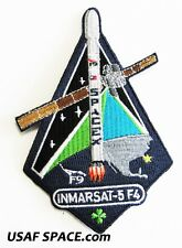 Inmarsat-5 F4 - SPACEX ORIGINAL FALCON 9 F-9 Launch SATELLITE Mission PATCH
