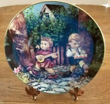 M.J. Hummel Plate From the Little Companions Collection