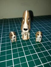 Szeiler dog and puppies ornament