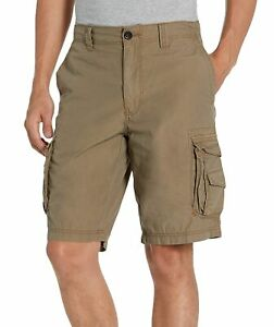 Unionbay Men Shorts Brown US Size 36 Cargo Classic Fit Mid-Rise Solid $39 104