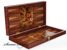 Super Luxus Porch Backgammon TAVLA XXL Atli Tavla