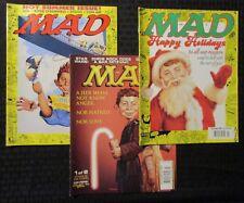 1997-2002 MAD Magazine LOT of 3 FVF/VF #360 365 419 Star Wars Parody