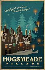 Harry Potter Hogsmeade Village Pop Art Classic Vintage Retro Kraft Paper Poster