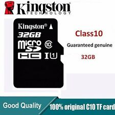 Original Kingston MicroSDHC Card 32GB TF Flash Memory Card Class10 U1C10
