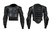 MOTOCYCLE MOTOBIKE MOTOCROSS  BODY ARMOUR  SPINE PROTECTOR GUARD JACKET ADULT