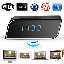 HD 1080P Wireless Wifi IP Spy Hidden Camera IR Cam Motion Security Alarm Clock