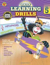 Daily Learning Drills, Grade 5 (Brighter Child: Da
